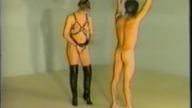 Femdom Whipping, Strapon And Jacking Male - Xcavycom-4045